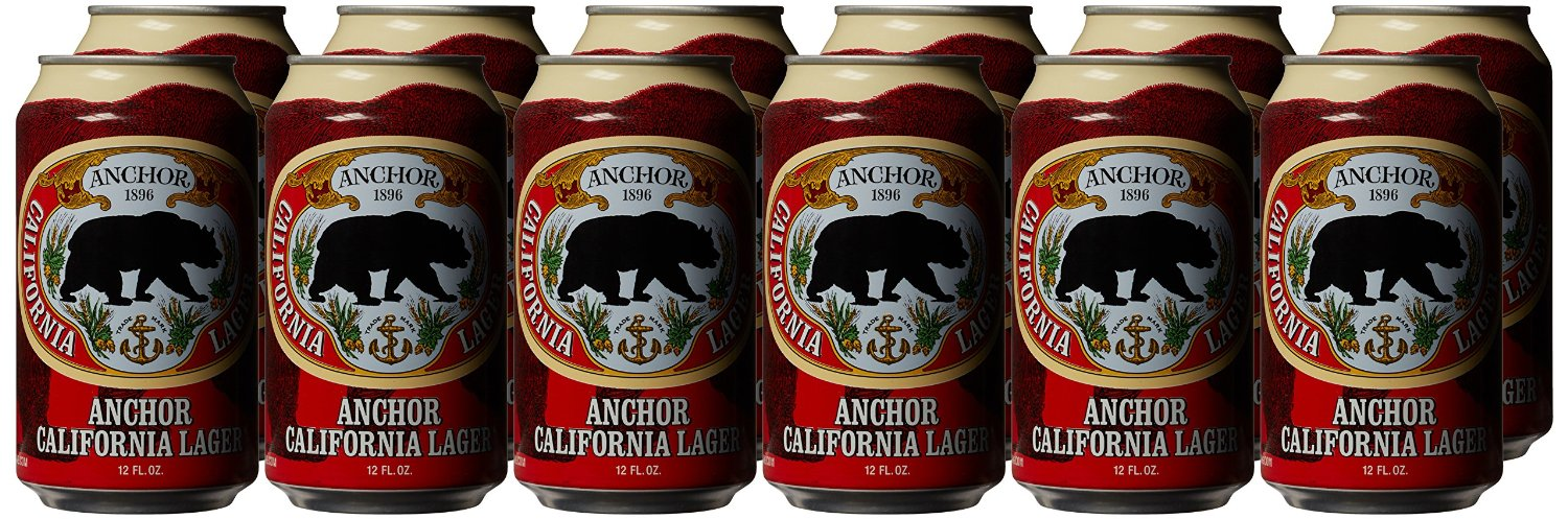 Anchor Brewing California Lager Can