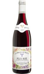 Duboeuf Flower Label Fleurie