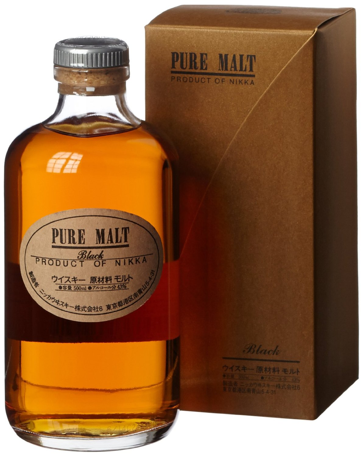 Nikka Pure Malt Black Label