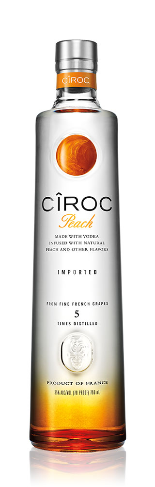 Ciroc Peach French Flavoured Grape Vodka