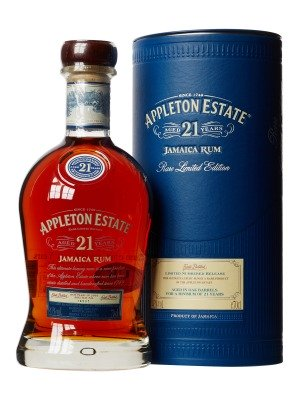 Appleton Estate 21 year Jamaican Premium Dark Rum