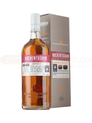 Auchentoshan Coopers Reserve Lowland Single Malt Scotch Whisky