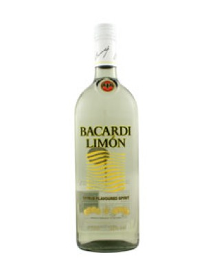 Bacardi Limon Flavoured Aged Rum