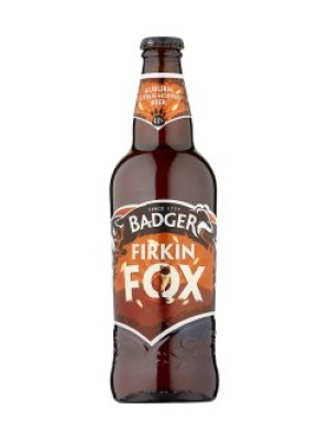 Badger Brewery Firkin Fox