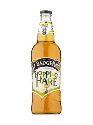Badger Brewery Hopping Hare Bottle
