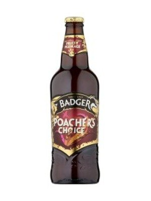 Badger Brewery Poacher's Choice Bottle