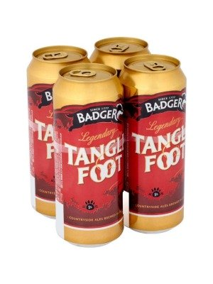 Badger Brewery Tanglefoot Can