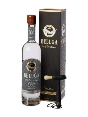 Beluga Gold Line Russian Luxury Malt Grain Vodka