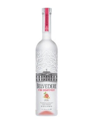 Belvedere Pink Grapefruit Polish Flavoured Rye Vodka