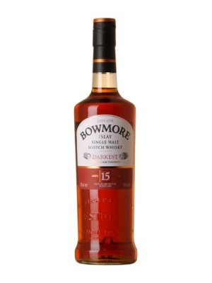 Bowmore Darkest 15 Year Old Whisky
