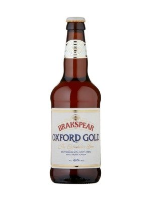 Brakspear Oxford Gold Organic Beer