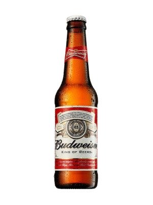 Budweiser Lager Bottle