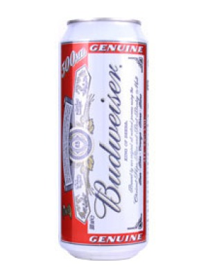 Budweiser Lager Large Can