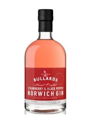 Bullards Strawberry and Black Pepper Norwich Gin