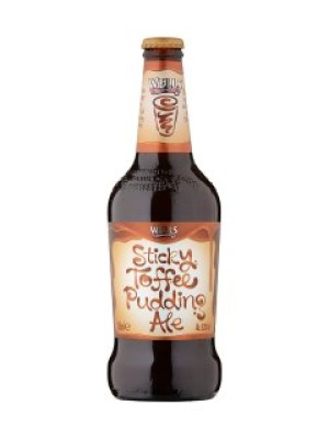 spitfire gold. charles wells sticky toffee pudding ale spitfire gold