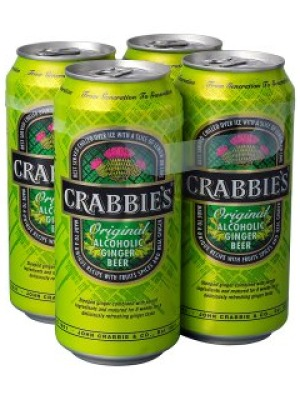 Crabbies Alcoholic Ginger Beer Can