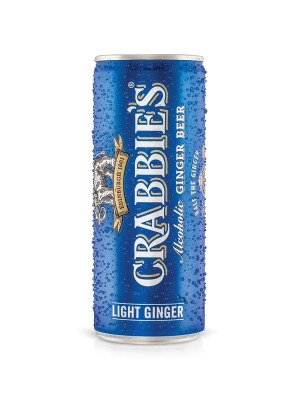 Crabbies Light Ginger Beer