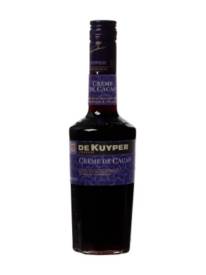 De Kuyper Creme De Cacao Brown Chocolate Liqueur