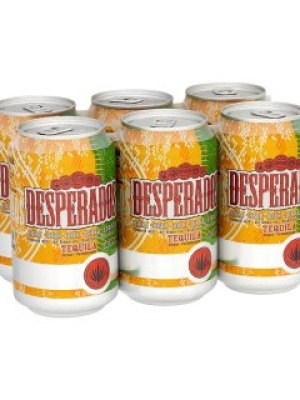 Desperados Beer Flavoured with Tequila Can