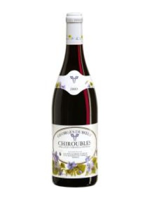 Duboeuf Flower Label Chiroubles