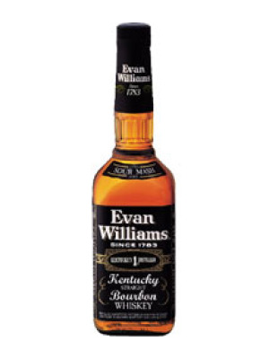 Evan Williams Black Extra Aged Whiskey