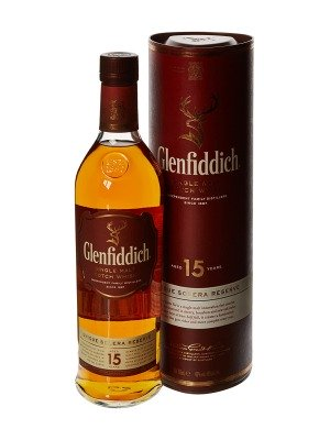 Glenfiddich 15 Year Old Scotch Whisky