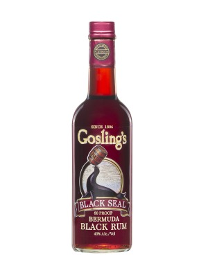 Goslings Black Seal Bermuda Blended Dark Rum