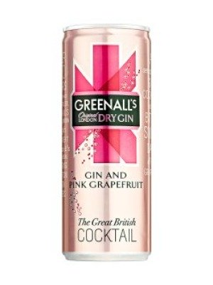 Greenall's Gin & Pink Grapefruit