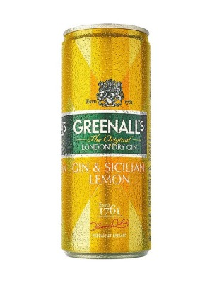 Greenall's Gin & Sicillian Lemon