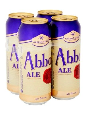 Greene King Abbot Ale Can