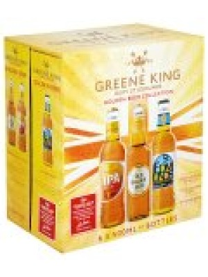 Greene King Golden Beer Selection