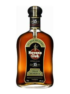 Havana Club 15 Year Old Gran Reserva Rum