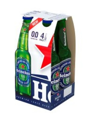 Heineken Alcohol Free Lager Bottle