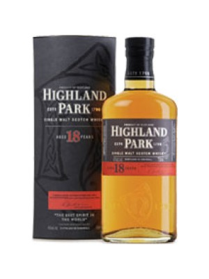 Highland Park 18 Year Old Whisky