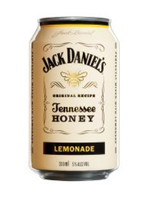 Jack Daniels Tennessee Honey & Lemonade