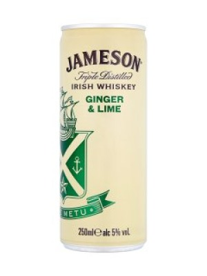 Jameson Ginger and Lime