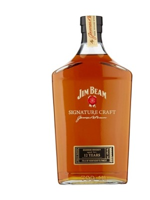 Jim Beam Signature Craft 12 Year Old Whiskey