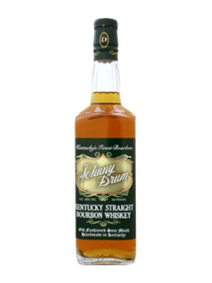 Johnny Drum Green Label Bourbon Whiskey