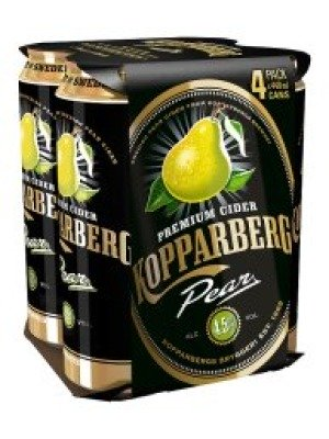Kopparberg Pear Cider Can