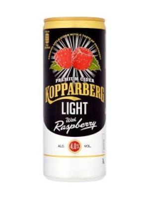 Kopparberg Premium Light Cider with Raspberry