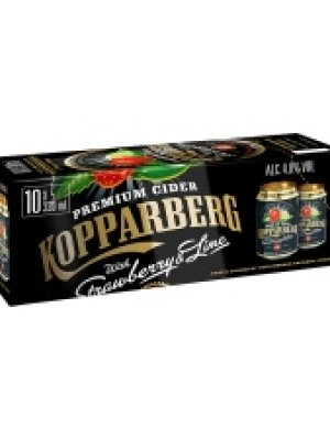 Kopparberg Strawberry Lime Cider Can