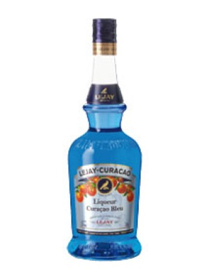 Lejay Lagoute Blue Curacao Orange Flavoured French Liqueur