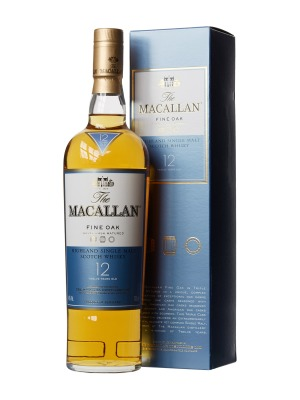 Macallan 12 Year Old Fine Oak Highland Single Malt Scotch Whisky