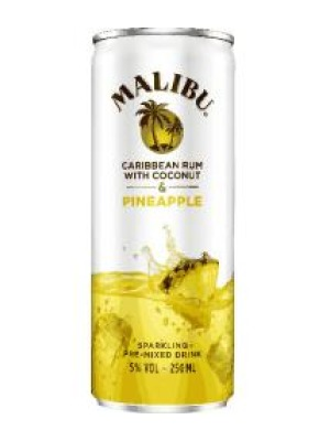 Malibu Caribbean Rum with Coconut & Pineapple