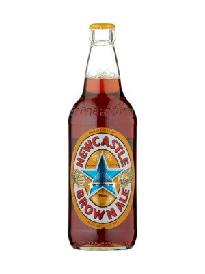 Newcastle Brown Ale Bottle