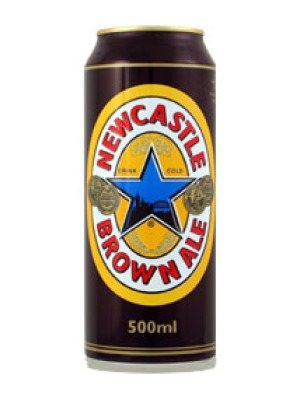 Newcastle Brown Ale Can