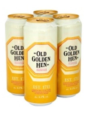 Old Golden Hen Crafted Beer Can