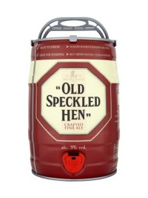 Old Speckled Hen Fine Ale Keg