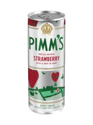 Pimm's Strawberry & Lemonade
