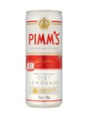 Pimm's with Diet Lemonade